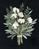 Cut Paper Bouquet II Framed Print
