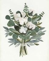 Cut Paper Bouquet III Framed Print