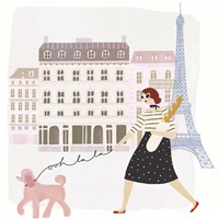 Paris People I Framed Print