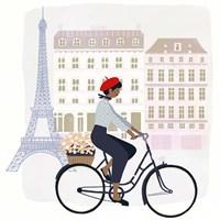 Paris People II Framed Print