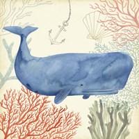 Underwater Whimsy I Framed Print