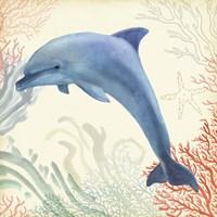 Underwater Whimsy II Framed Print