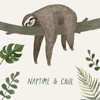 Sloth Sayings II Fine Art Print