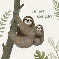 Sloth Sayings III Fine Art Print