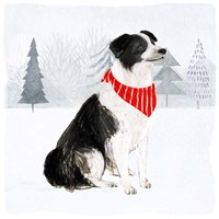 Christmas Cats & Dogs II Fine Art Print