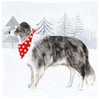 Christmas Cats & Dogs IV Fine Art Print