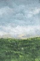 Verdant Fields II Framed Print