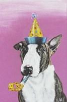 Party Dog II Fine Art Print