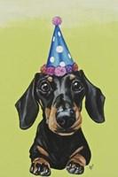 Party Dog III Fine Art Print