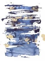 Blue Rapture II Fine Art Print