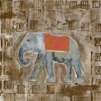 Global Elephant I Fine Art Print