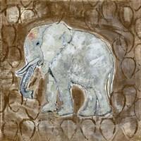 Global Elephant II Fine Art Print