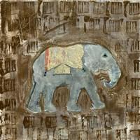 Global Elephant III Fine Art Print