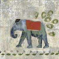 Global Elephant IV Fine Art Print