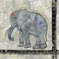 Global Elephant V Fine Art Print