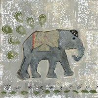 Global Elephant VI Fine Art Print