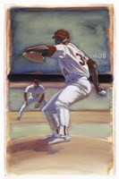 Baseball I Fine Art Print