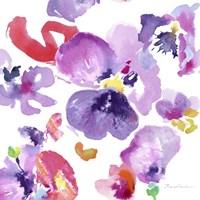 Watercolor Flower Composition III Fine Art Print