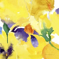 Watercolor Flower Composition V Fine Art Print