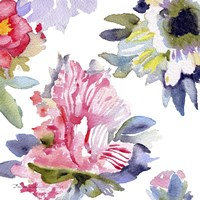 Watercolor Flower Composition VII Fine Art Print