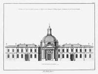Architectural Elevation I Framed Print