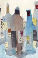 The Wine Bottles I Fine Art Print