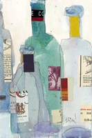 The Wine Bottles II Fine Art Print