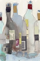The Wine Bottles III Fine Art Print