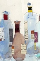 The Wine Bottles IV Fine Art Print