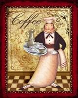 Chefs Bon Appetit I Framed Print