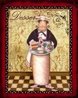 Chefs Bon Appetit II Framed Print