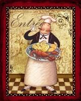 Chefs Bon Appetit III Framed Print