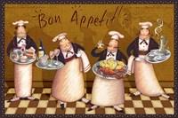 Chefs Bon Appetit V Fine Art Print