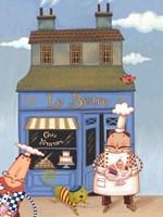 Cafe Chef I Fine Art Print