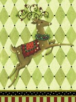Harlequin Christmas I Fine Art Print