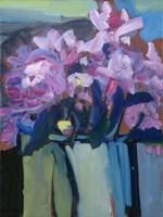 Violet Spring Flowers III Fine Art Print