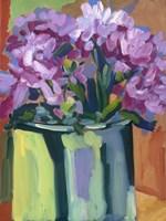 Violet Spring Flowers IV Fine Art Print