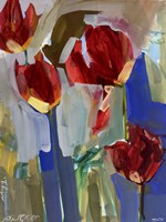 Painterly Tulips I Fine Art Print