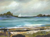 Seaside View I Fine Art Print