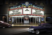 Diners and Cars I Fine Art Print