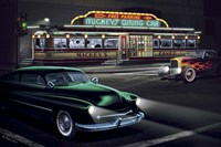 Diners and Cars II Fine Art Print
