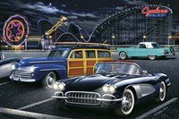 Diners and Cars III Fine Art Print