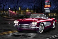 Diners and Cars V Fine Art Print