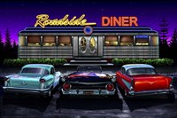Diners and Cars VIII Fine Art Print