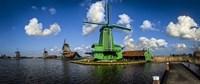 Dutch Windmills Fine Art Print