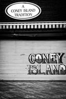 Coney Island New York Black/White Fine Art Print