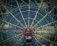 Wonder wheel  New York Fine Art Print