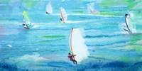 Windsurfing Fine Art Print
