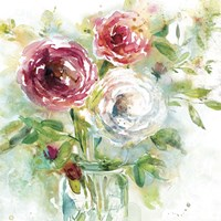 Garden Jar I Fine Art Print