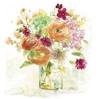 Garden Jar III Fine Art Print